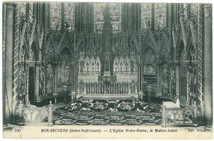 Eglise Notre Dame, interior