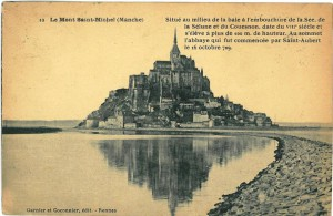 A headache at Mont Saint-Michel
