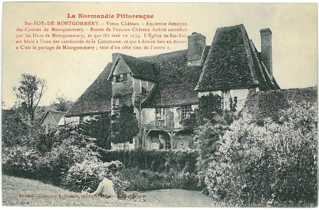 The old manor at St Foy de Montgommery - home of perfect Pommeau!