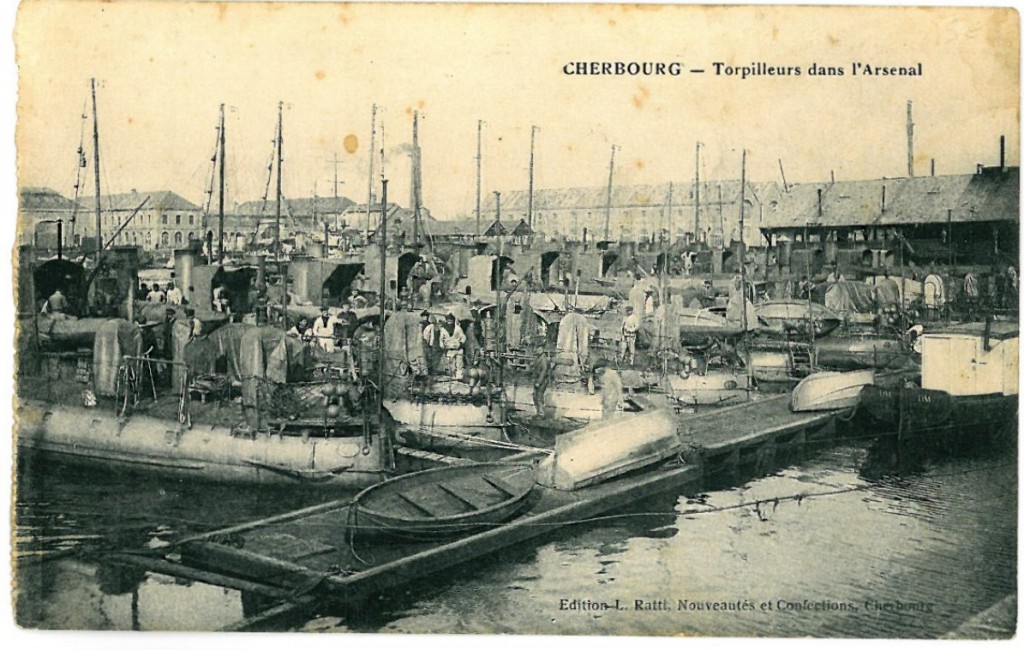 Cherbourg, torpedoes and a Tsar in the playground