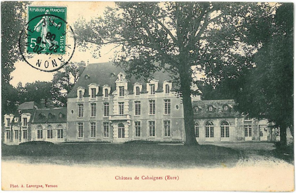 A Frenchman's home is his castle, in Cahaignes