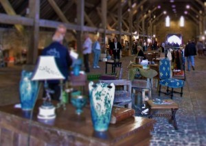 First Sunday monthly antique and flea at Saint-Pierre-sur-Dives!