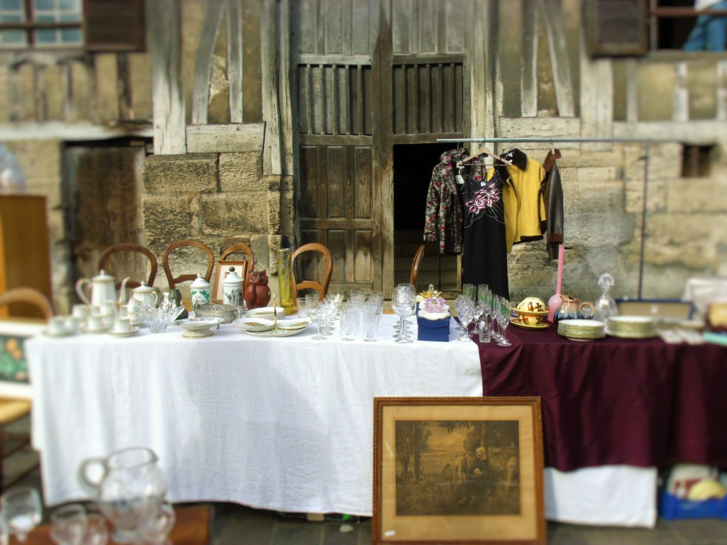 1st Sunday of the Month brocante market in Honfleur!