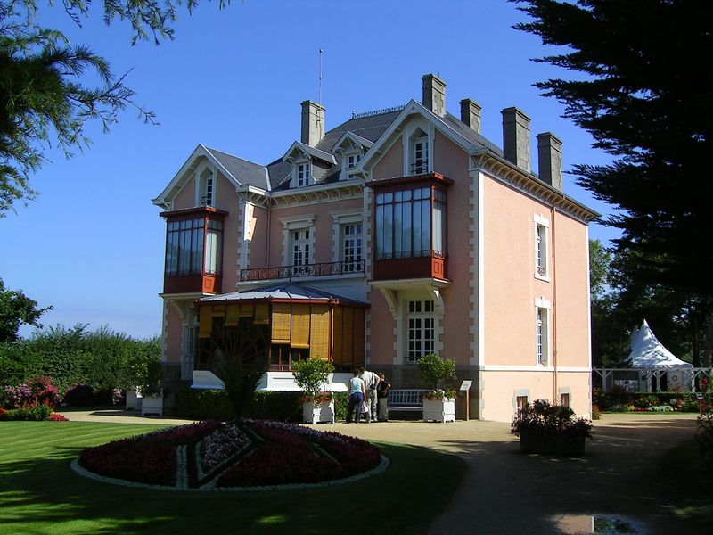 The Dior home at Granville, now Maison et musée de Christian Dior