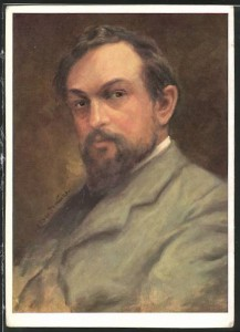 The smouldering Claude Debussy, note the twinkle in those eyes!