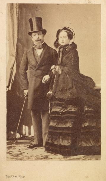 Emperor Napoleon III and Empress Eugénie