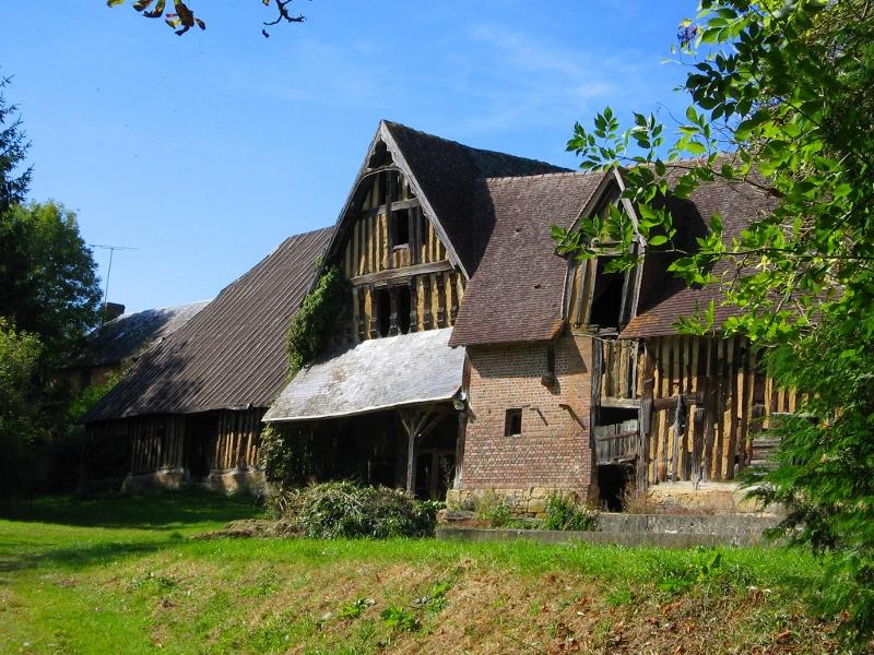 The barn, ripe for renovation