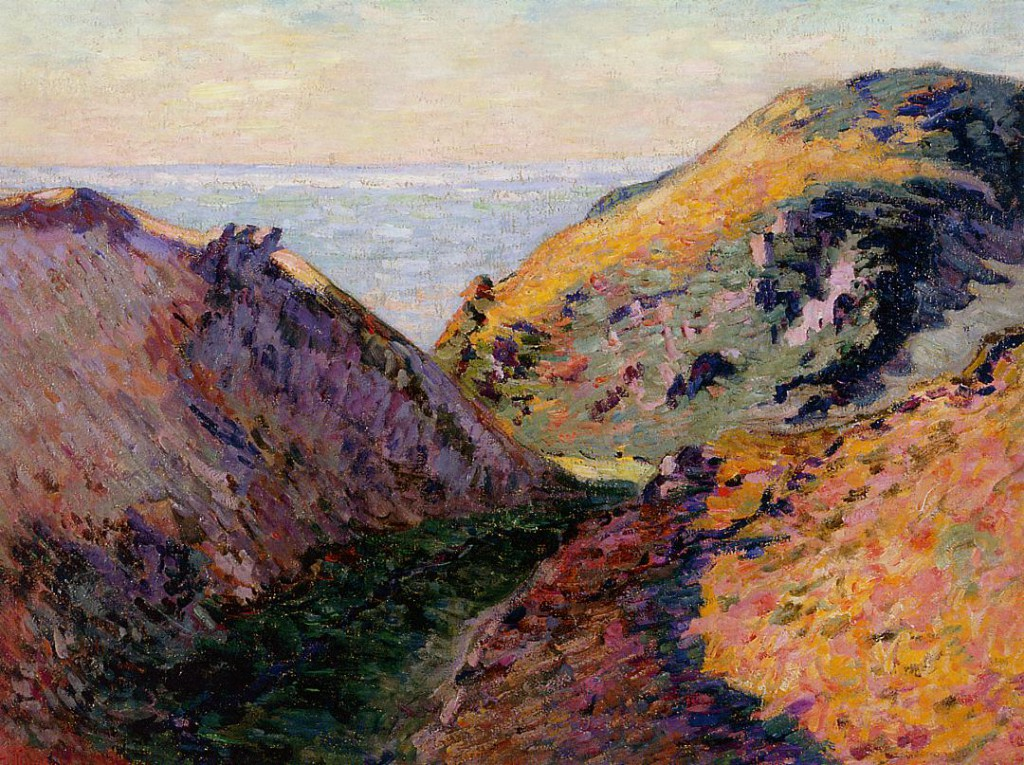 The Lude Valley at Carolles 1902 Armand Guillaumin