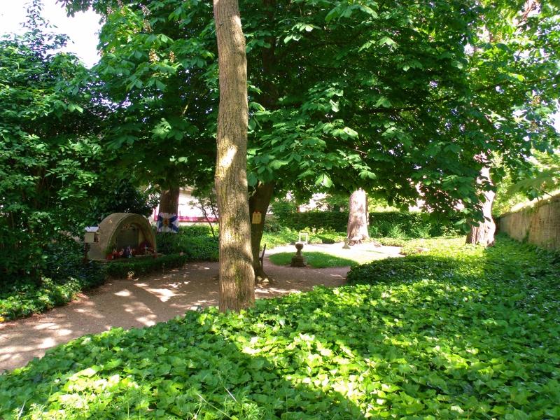 Abbey Ardenne garden in summer
