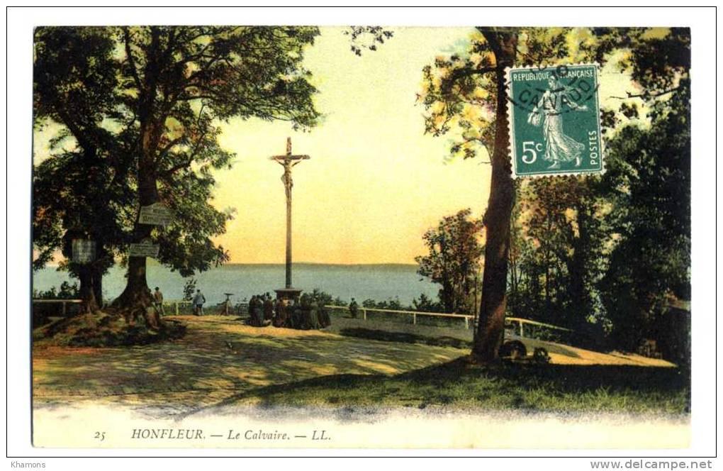The Calvary, overlooking the Seine estuary