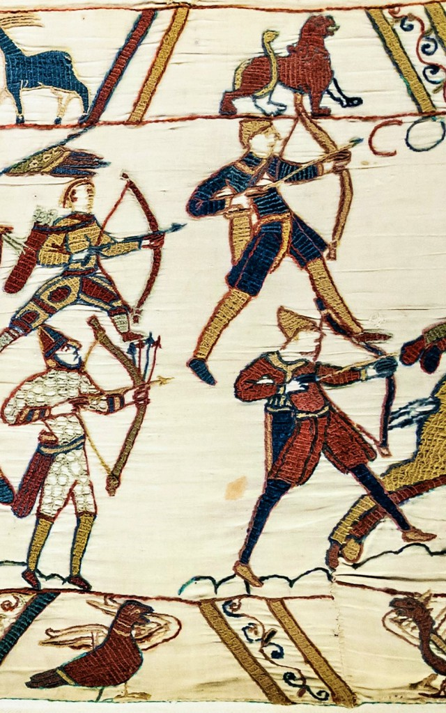 Medieval archers - Bayeux Tapestry