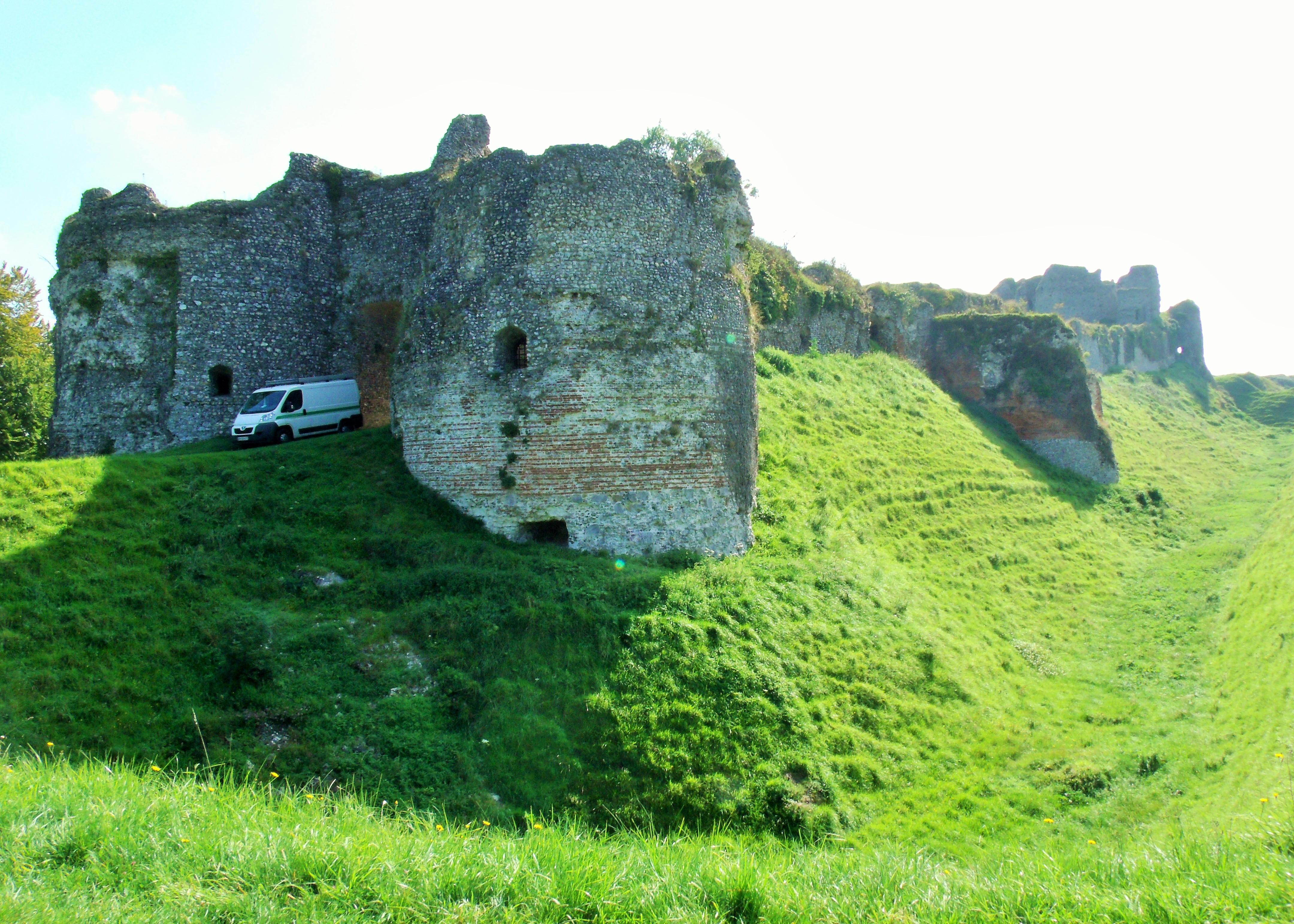 Ruins of Château d'Arques-la-Bataille Normandy