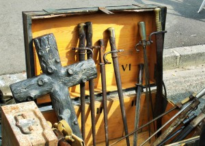 3rd Sunday monthly antique/flea market in Granville