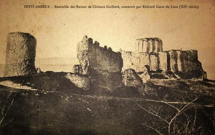 The sad secret of Château Gaillard