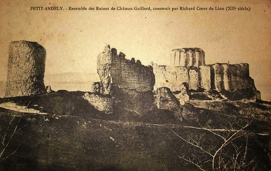 The sad secret of Château Gaillard
