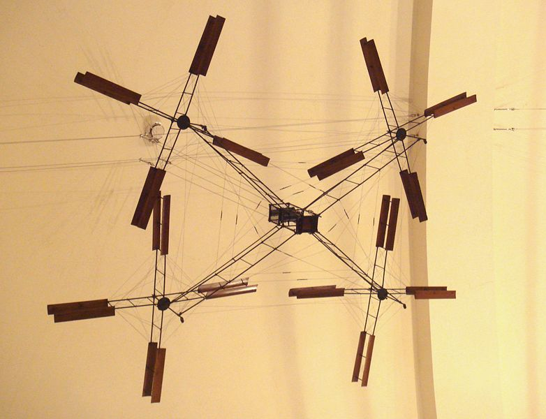 Model of the Breguet-Richet Gyroplane