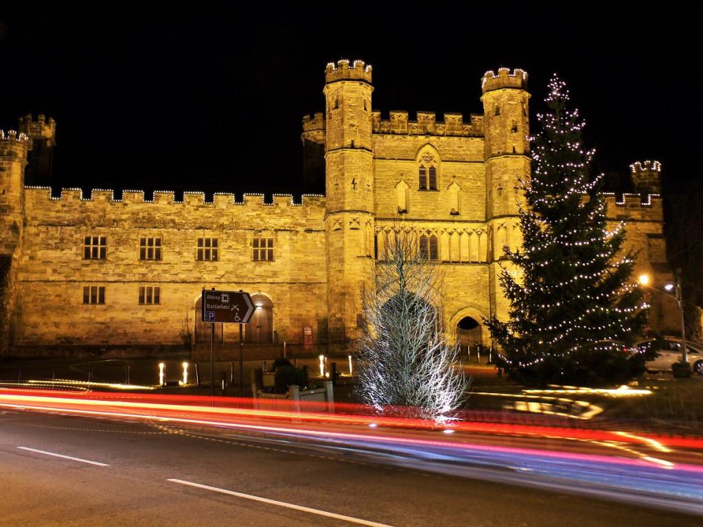 Battle Abbey gatehouse, December 2014