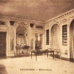 Amazing new Cahaignes postcard match! Château interior…