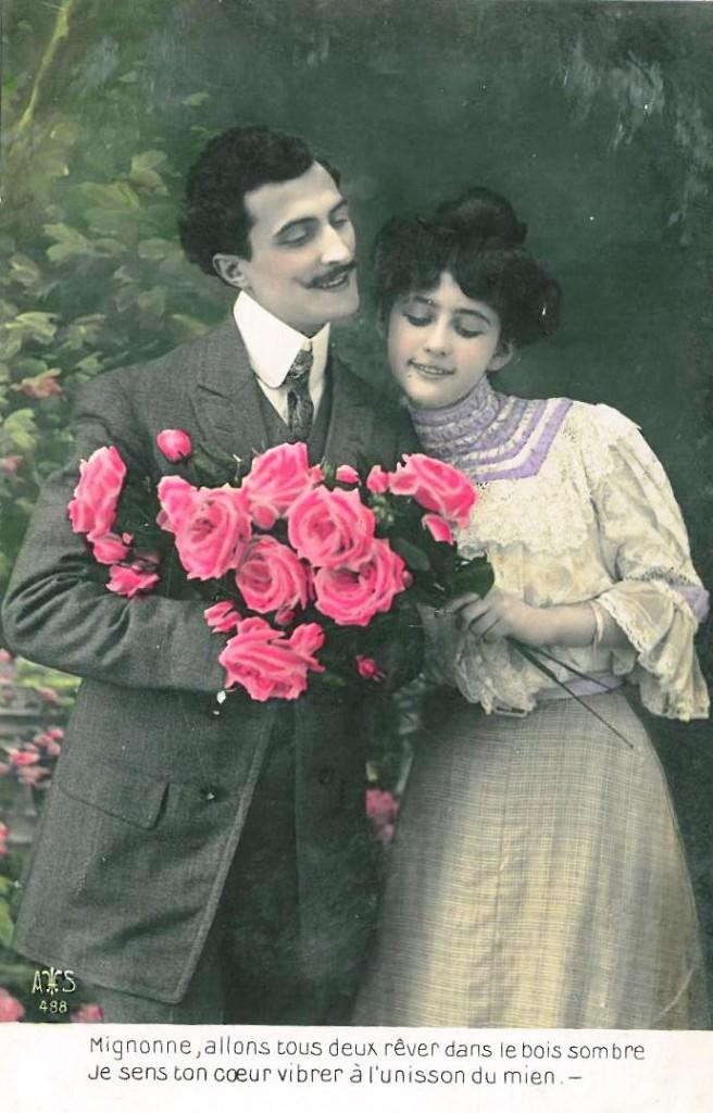 Joyeuse Saint Valentin à tous les amoureux!