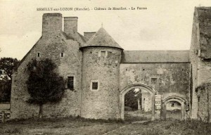 Bravery, betrayal and the SAS; Château de Montfort, Remilly-sur-Lozon