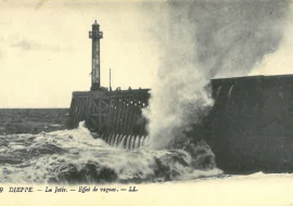 Storms, shipwreck and survival, in Dieppe