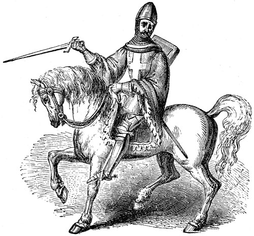 Unknown medieval knight, lets call him Gilbert.