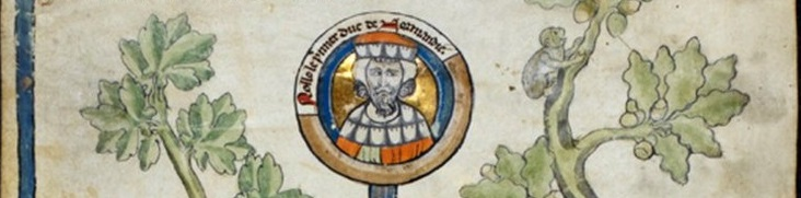 Rollo, founder and first ruler of the Viking principality which soon became known as Normandy