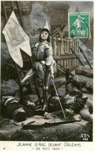 Recreating Jeanne d'Arc, in Rouen