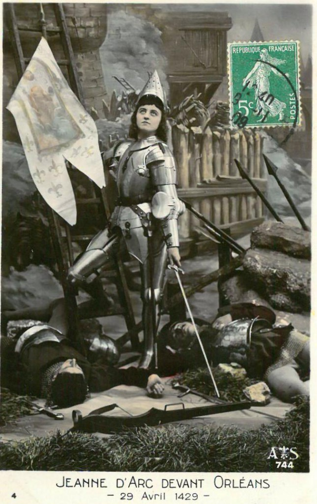 Recreating Jeanne d'Arc, in Rouen