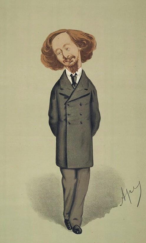 A hero? Moi? (Vanity Fair 1874)