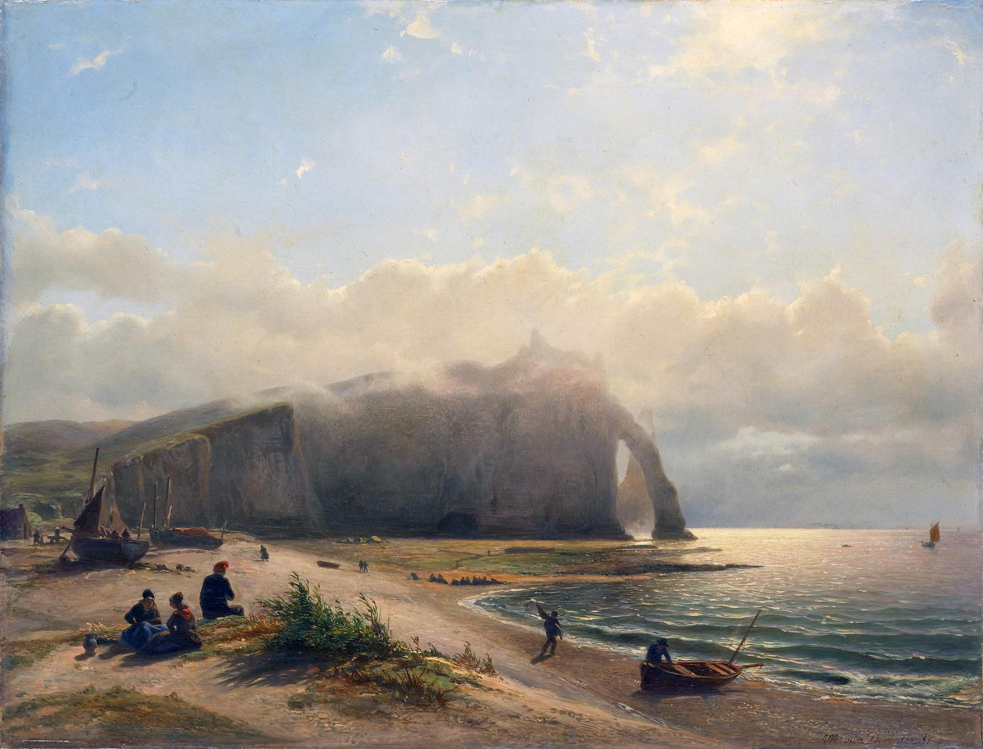 Coastal_View_-_Zeegezicht_aan_de_kust_(Willem_Anthonie_van_Deventer,_1880)