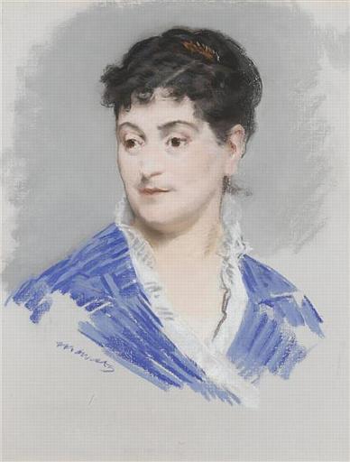 Edouard Manet's portrait of Madam Alexandrine Zola