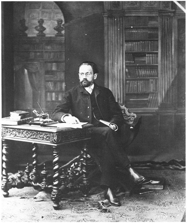 Émile Édouard Charles Antoine Zola, the man of Alexandrine's dreams