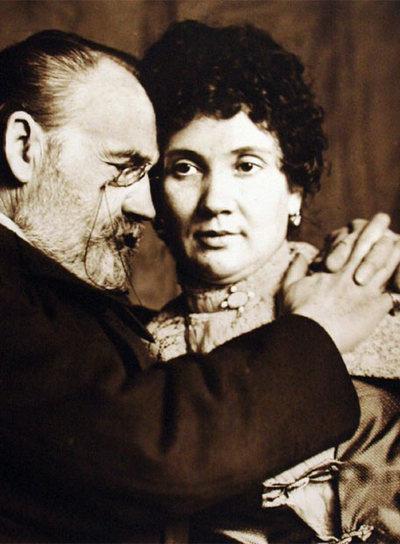 Émile Zola and Jeanne Rozerot