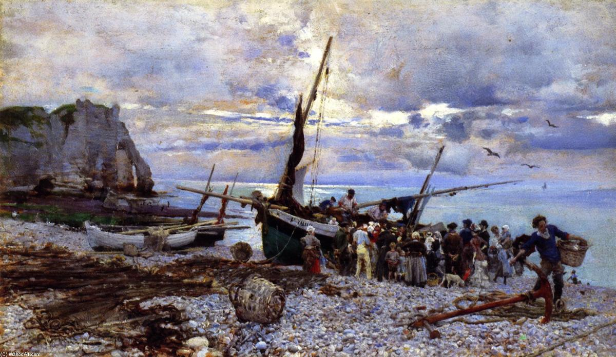 Giovanni-Boldini-The-Return-of-the-Fishing-Boats