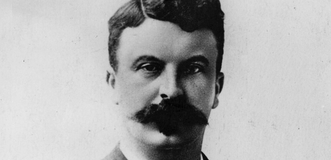 Guy de Maupassant, now who wouldn't invite that 'tash for a spot of lunch!