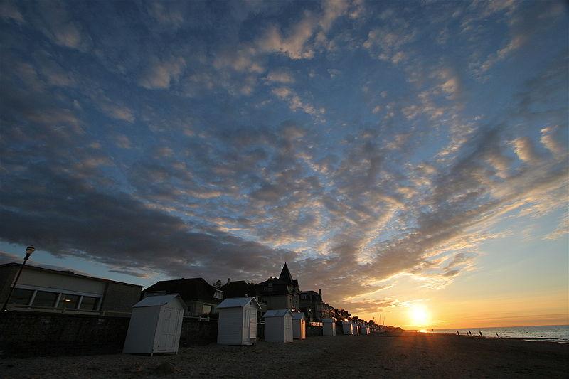 Tristan Nitot-Coucher-soleil-saint-aubin-sur-mer-calvados