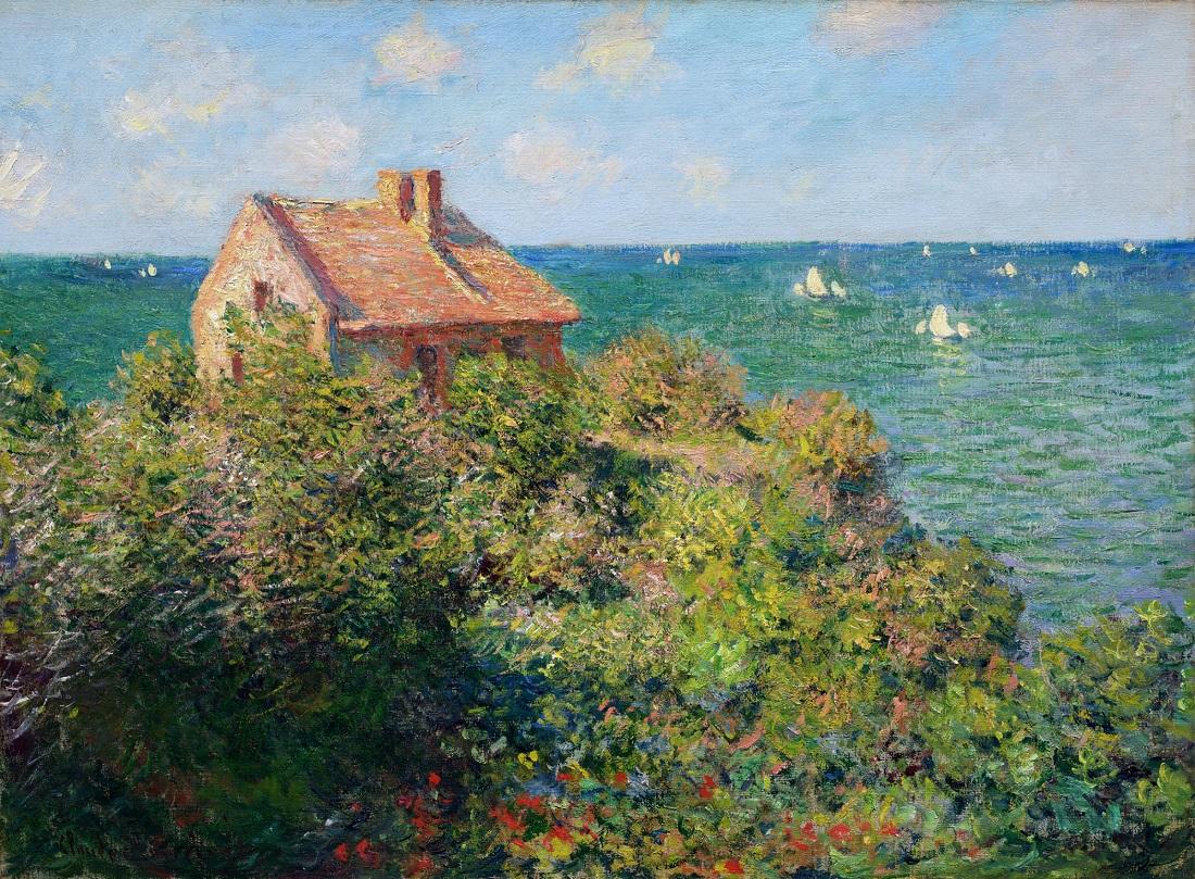 Fisherman's Cottage at Varengeville - Claude Monet