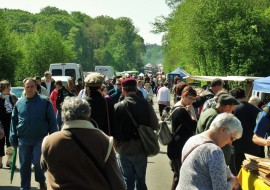 The spring Andaines to Bagnoles brocante boogie!
