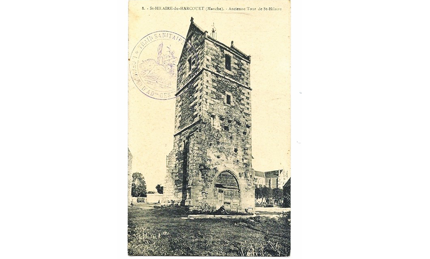 The secret in the tower at Saint-Hilaire-du-Harcouët