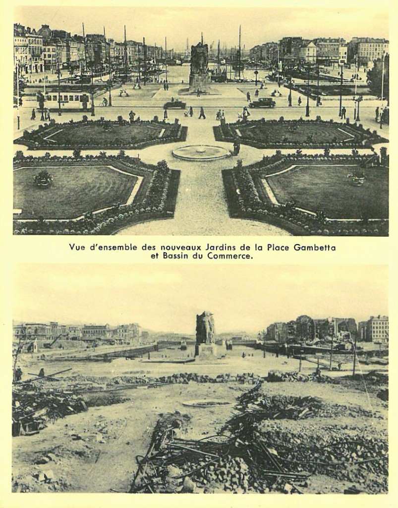 Le Havre Then and Now (2)