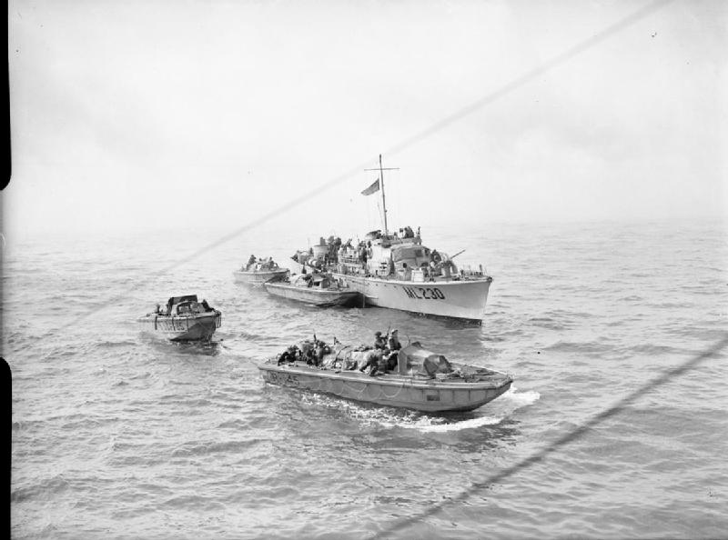 The Royal Navy during the Dieppe Raid