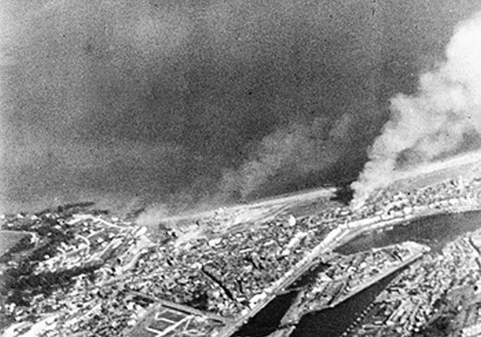 Dieppe Raid from the Air