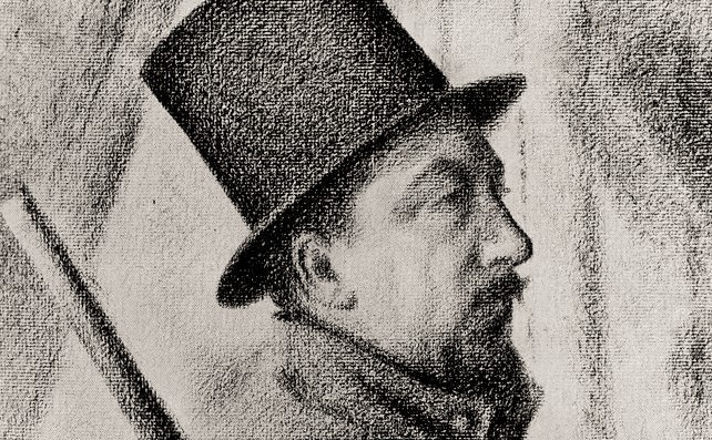The increasingly important Paul Signac by his friend Georges-Pierre Seurat 1890