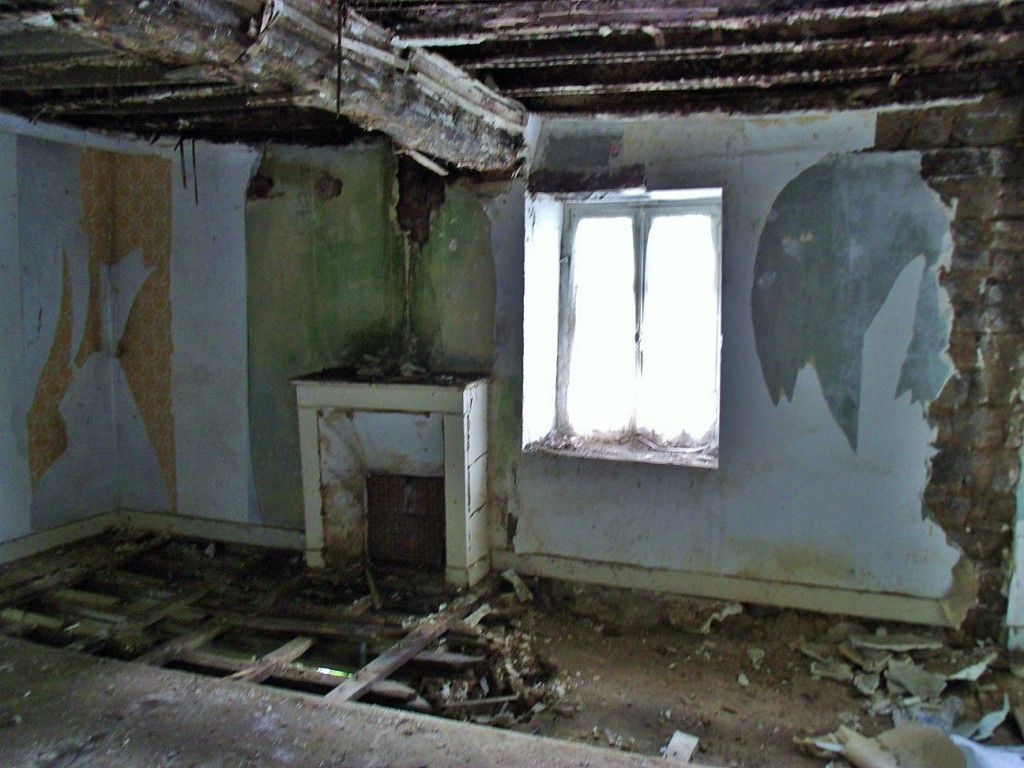 Has the neglect gone on for too long? Could the cottage be renovated?