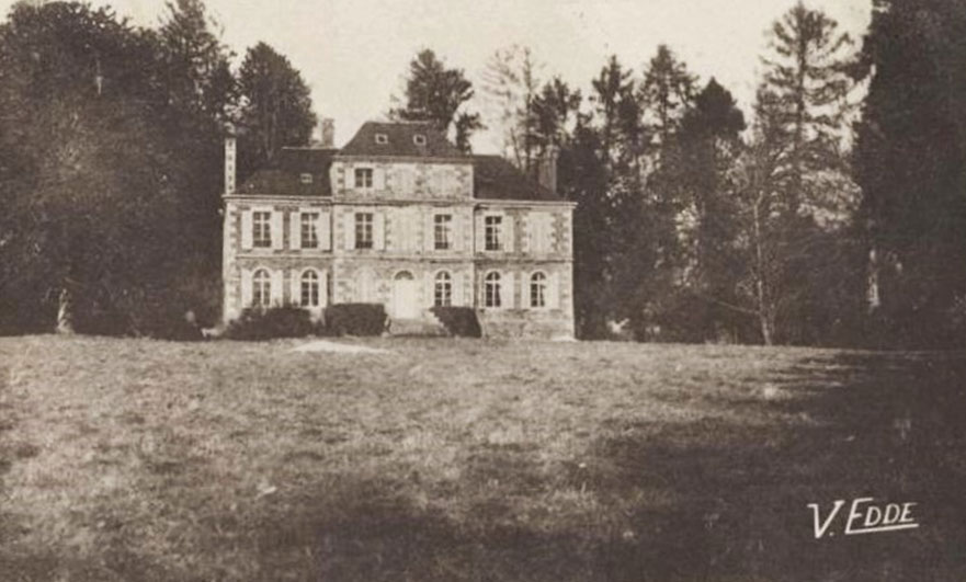 The terrible haunting of a Normandy château