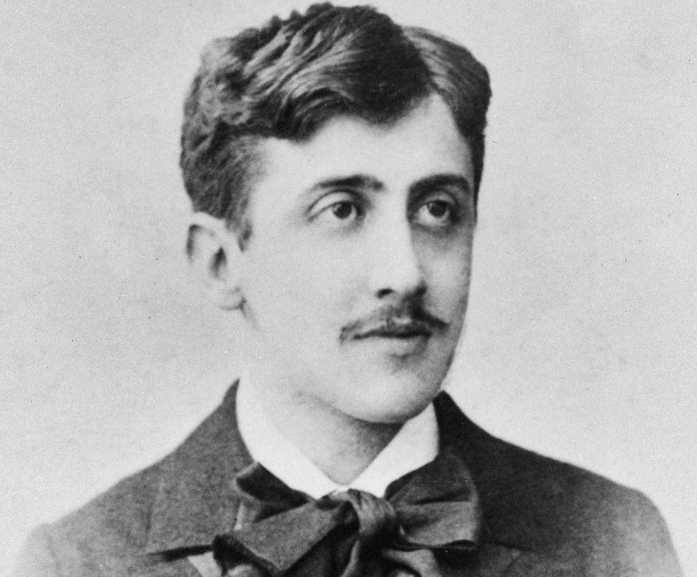 Young Marcel Proust, do thinking about churches?