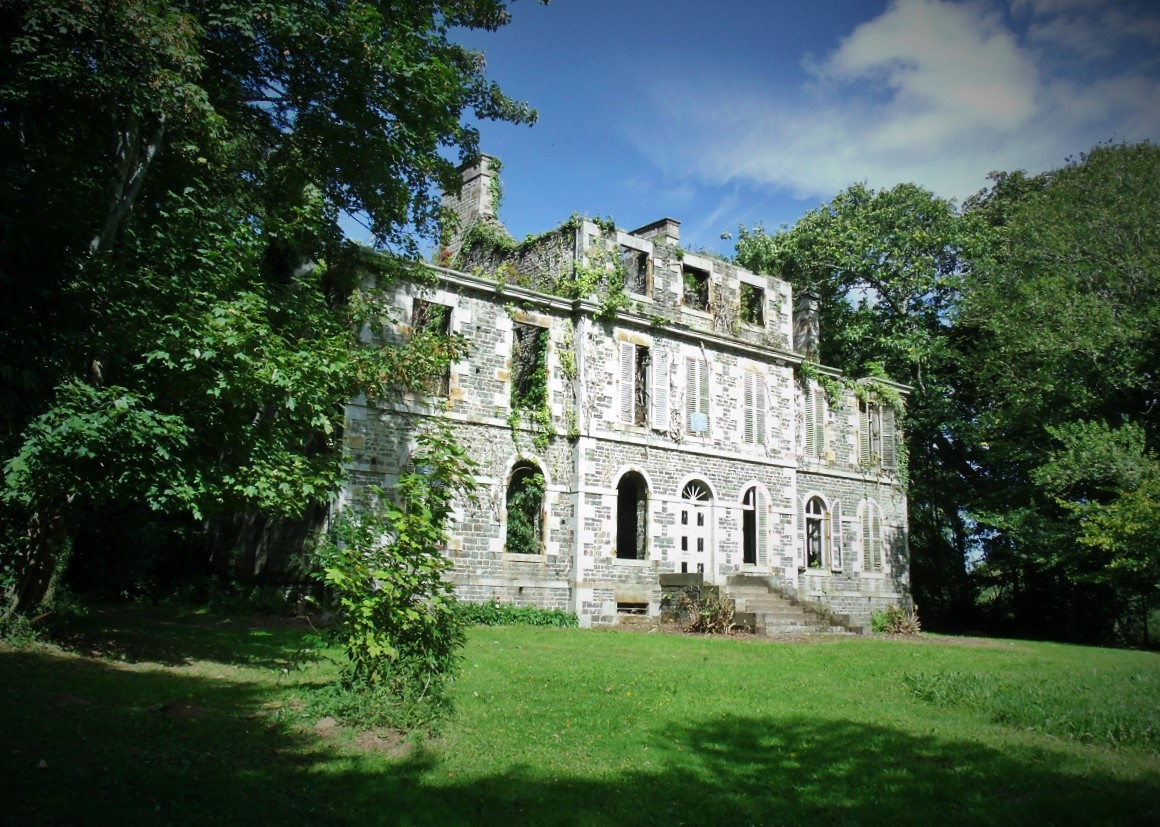 Chateau des Noyers du Tourneur - possibly the most haunted house in France and rarely open...