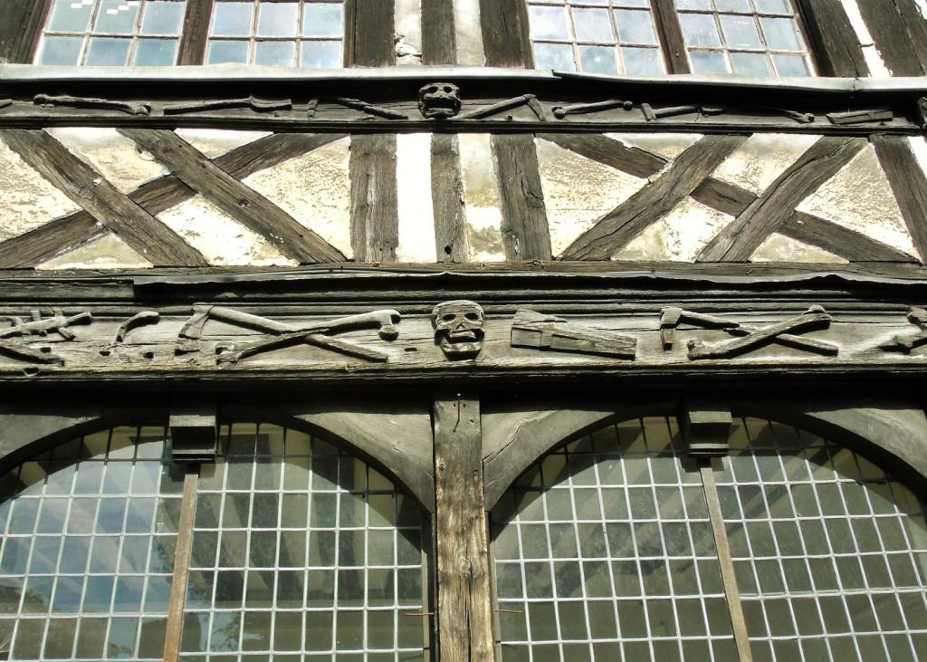 L' aître Saint-Maclou in Rouen