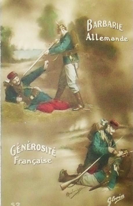 Vintage WW1 French postcard